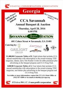CCA Savannah Banquet 2016